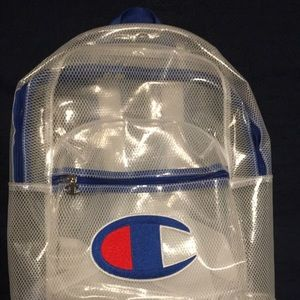 Champion See through Back Pack
